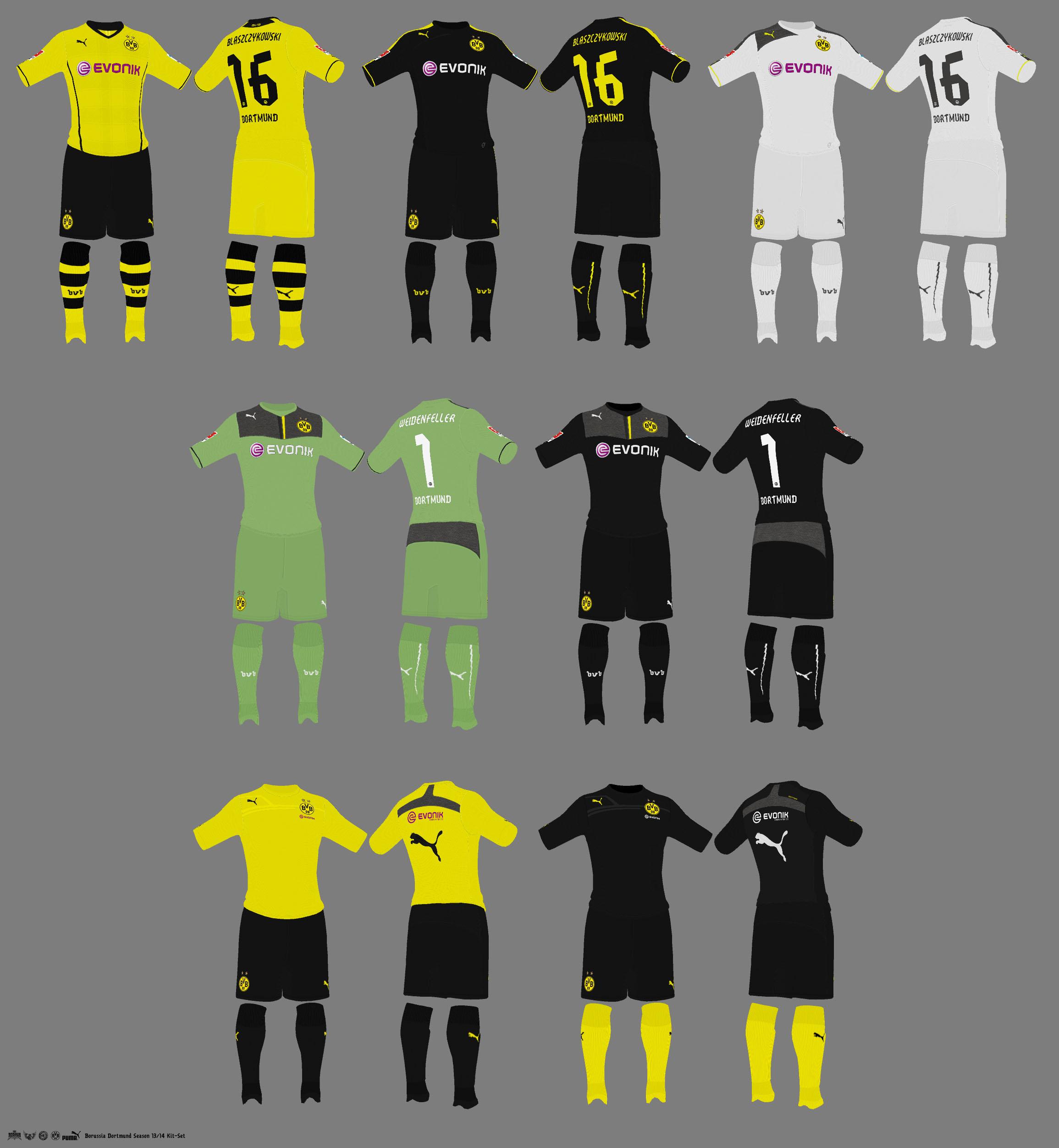 Боруссия дортмунд форма в фифа 08