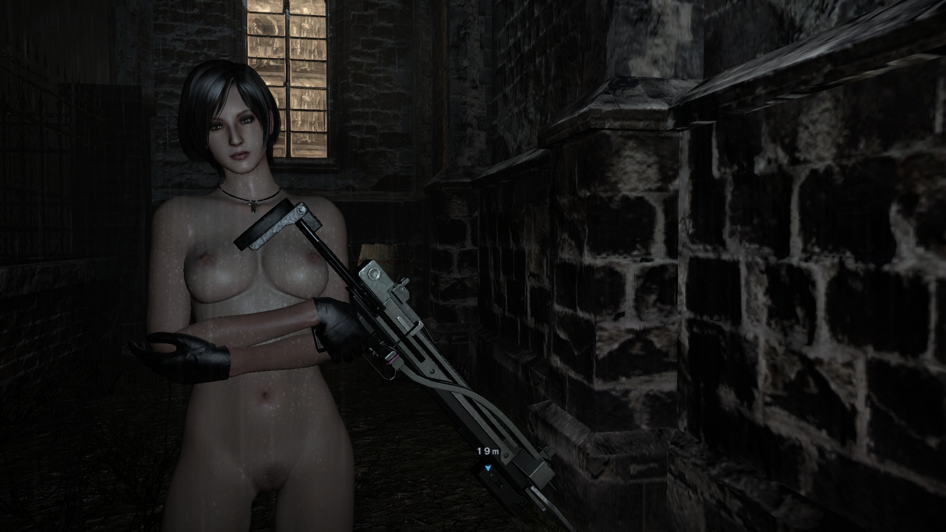 Nude patch for resident evil anime video