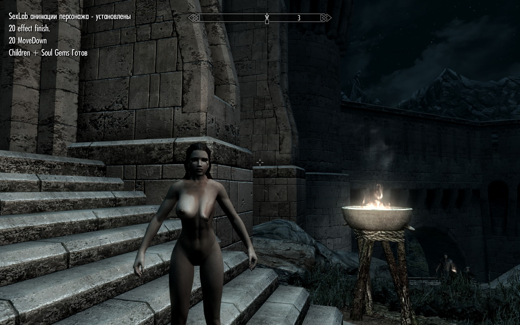 Мод на секс в игре скайрим видео