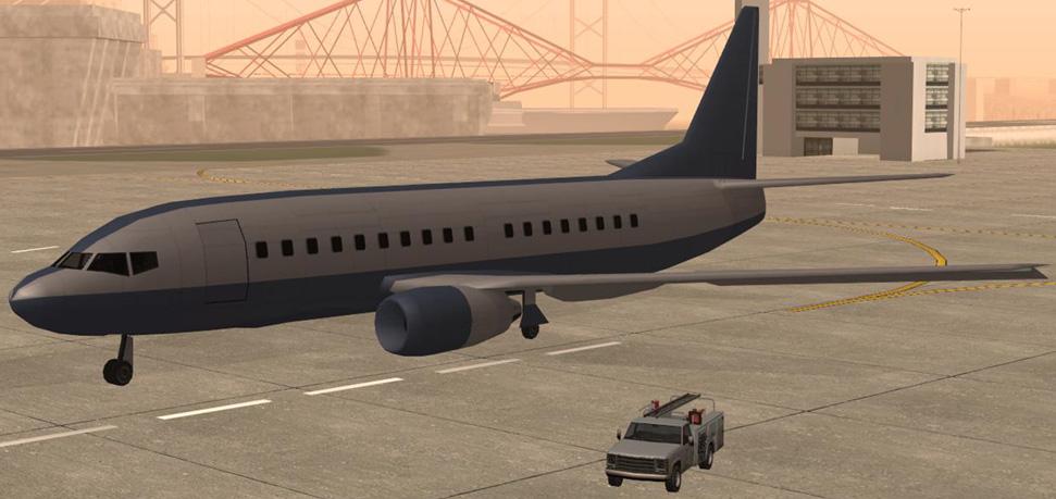 Как сделать самолёт в гта сан андреас 244