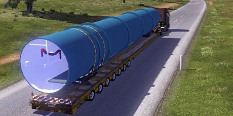 негабаритные прицепы для euro truck simulator 2