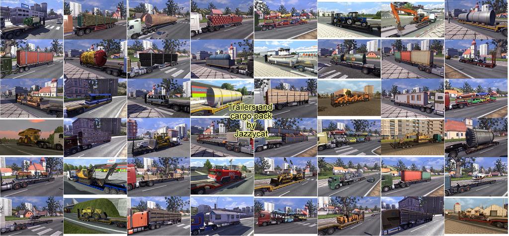 скачать мод на грузы на euro truck simulator 2 на