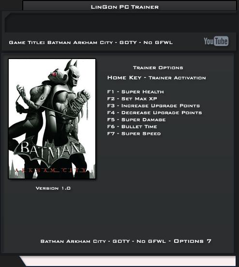 arkham city pc download
