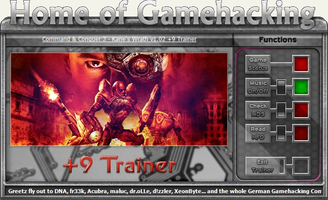 1Command And Conquer 3 Trainer