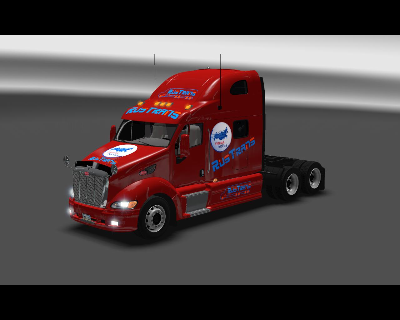 Euro Truck Simulator 2 Peterbilt 387 скачать