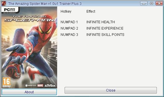 скачать трейнер для Amazing Spider Man 2 - фото 5