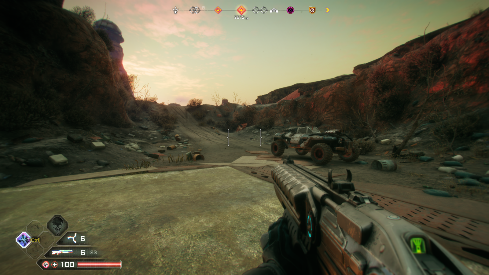 Impressions of the game (RAGE 2)