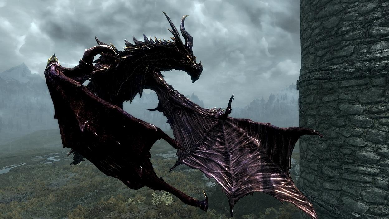 Скачать скайрим мод на драконов