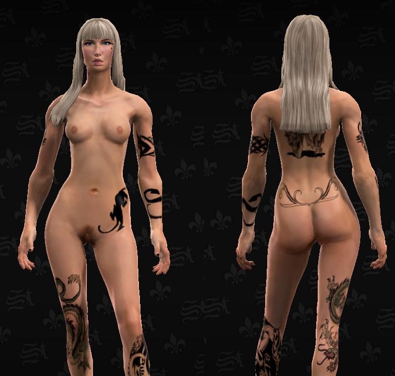 saints nude female