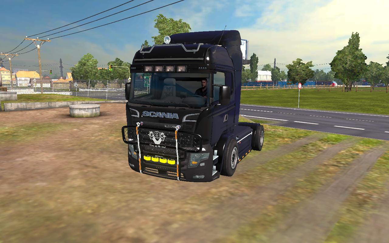 Как сделать свой грузовик в етс 2 910