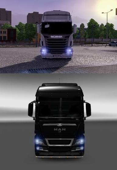доп фары для грузовиков вольво