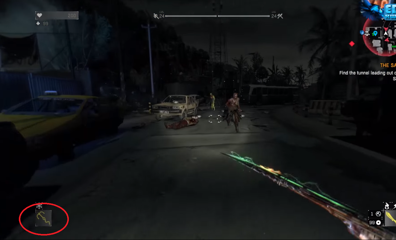 dying light how to get grappling hook