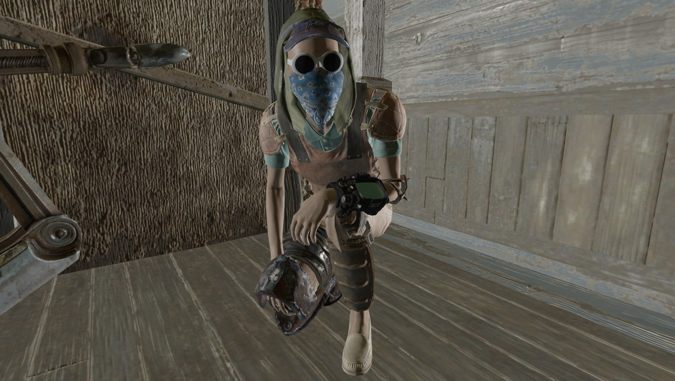 more armor slots fallout 4