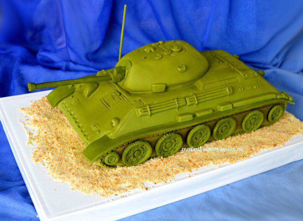 Торт танк своими руками рецепты