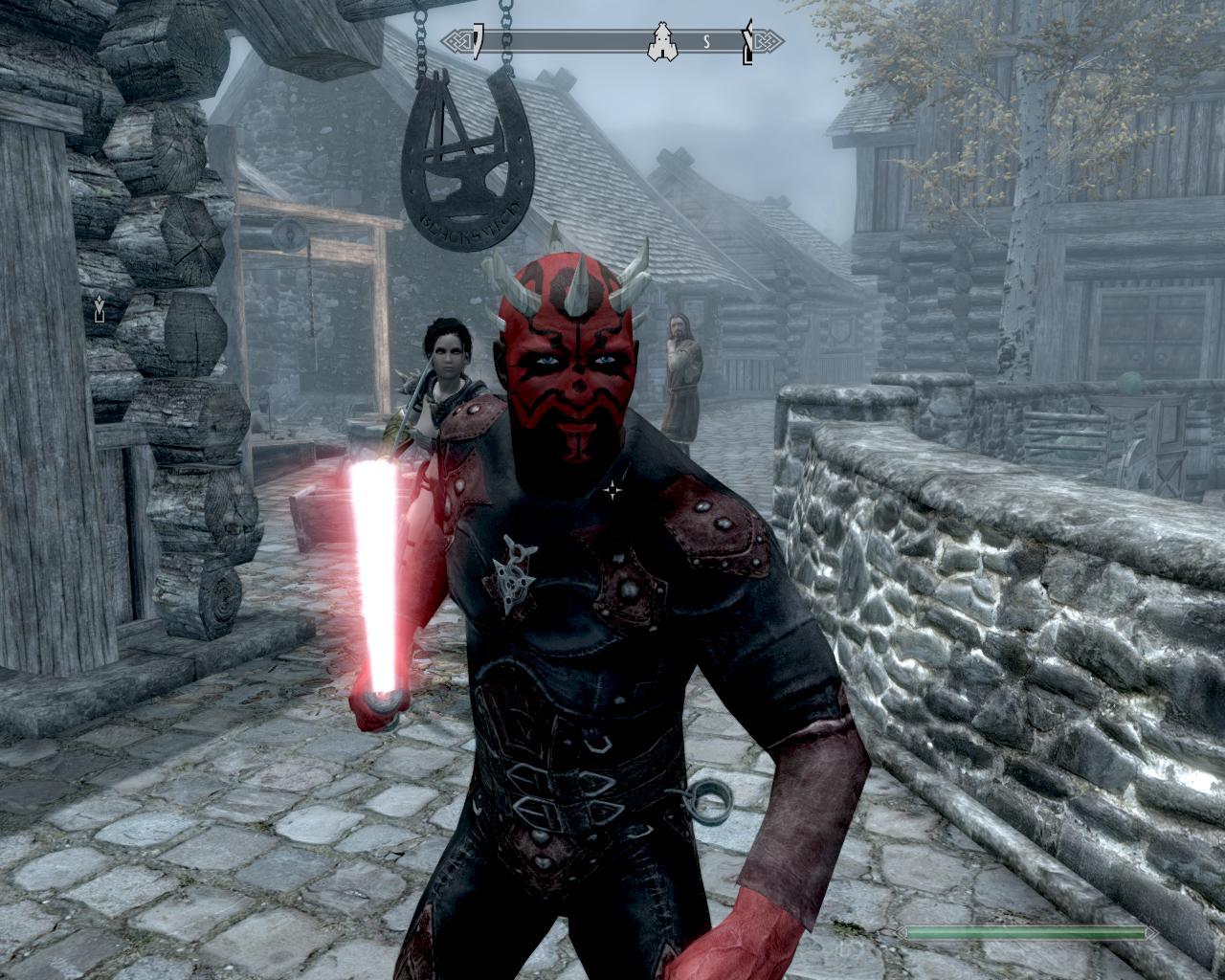 Скачать мод на skyrim на световые мечи