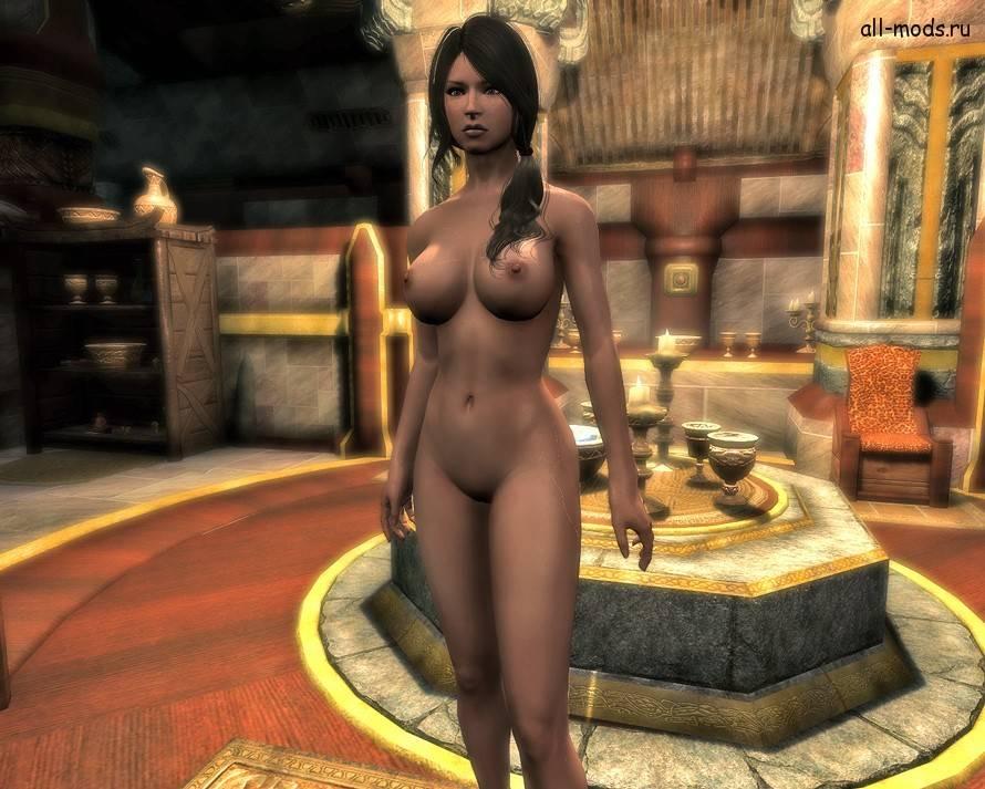 скачать моды на скайрим на голые тела - фото 6