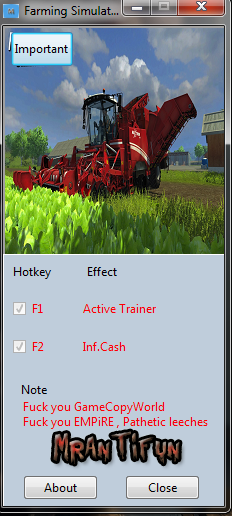 Farming Simulator 2013 Коды на Деньги
