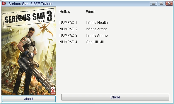 1Serious Sam 3 Trainer