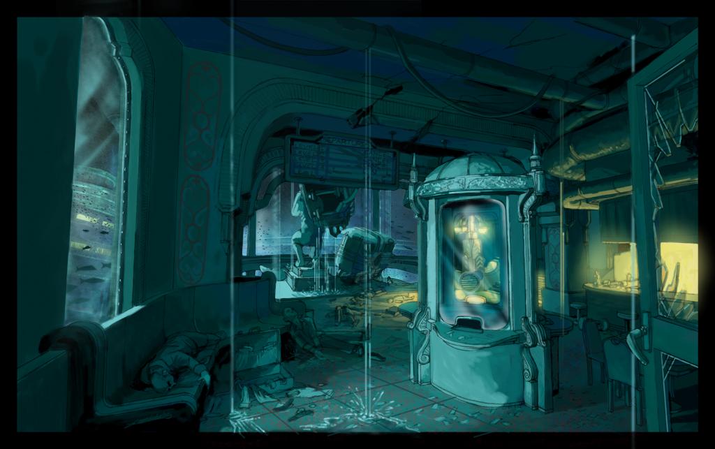 Bioshock Wallpaper Under The Sea Rapture by killerdoll on