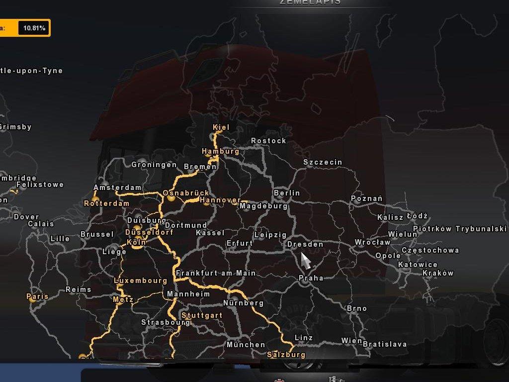 Euro Truck Simulator 2 скачать карты моды - фото 5