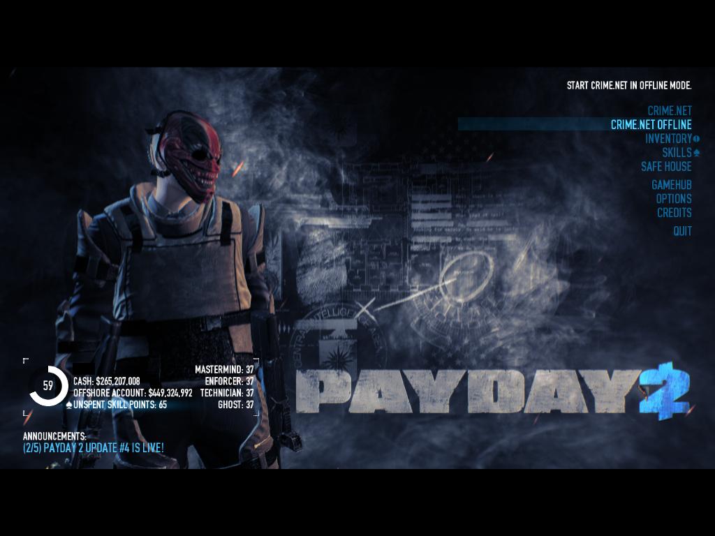 скачать читы на Payday 2 на деньги - фото 6