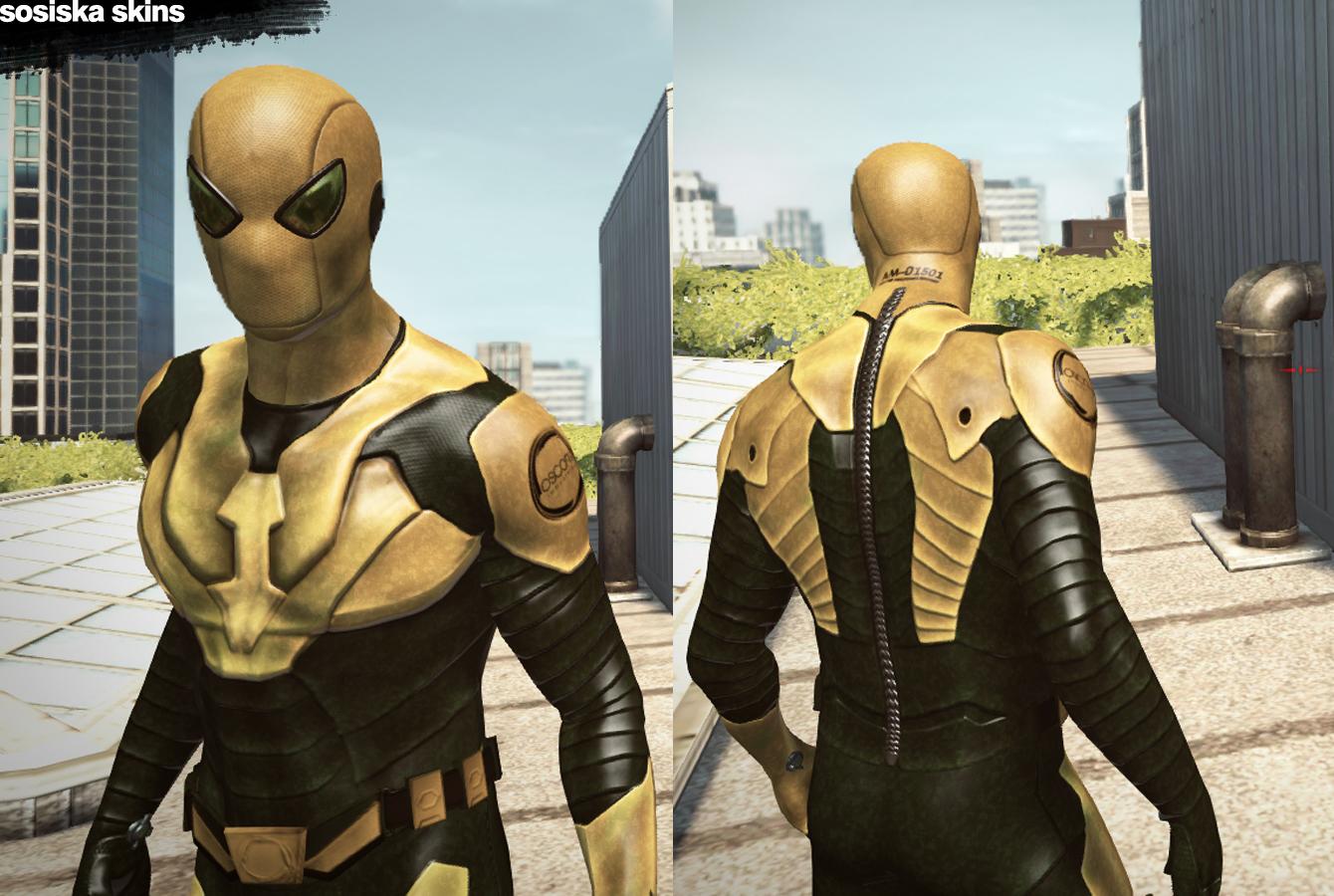 Amazing spider man quot agent s h i l d amp oscorp soldier quot by