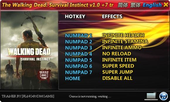 Скачать Трейнер На The Walking Dead Survival Instinct