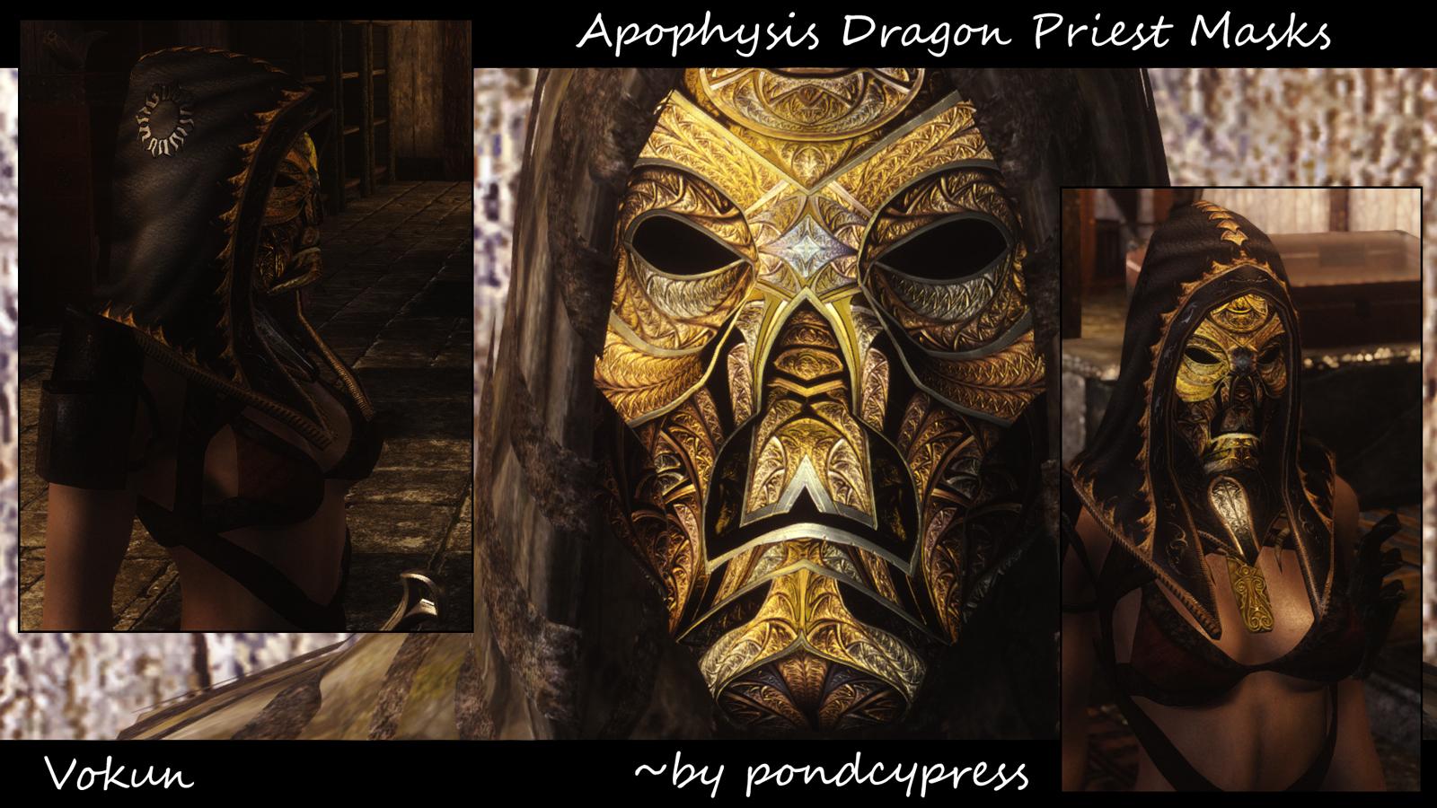 Apophysis Dragon Priest Masks Skyrim