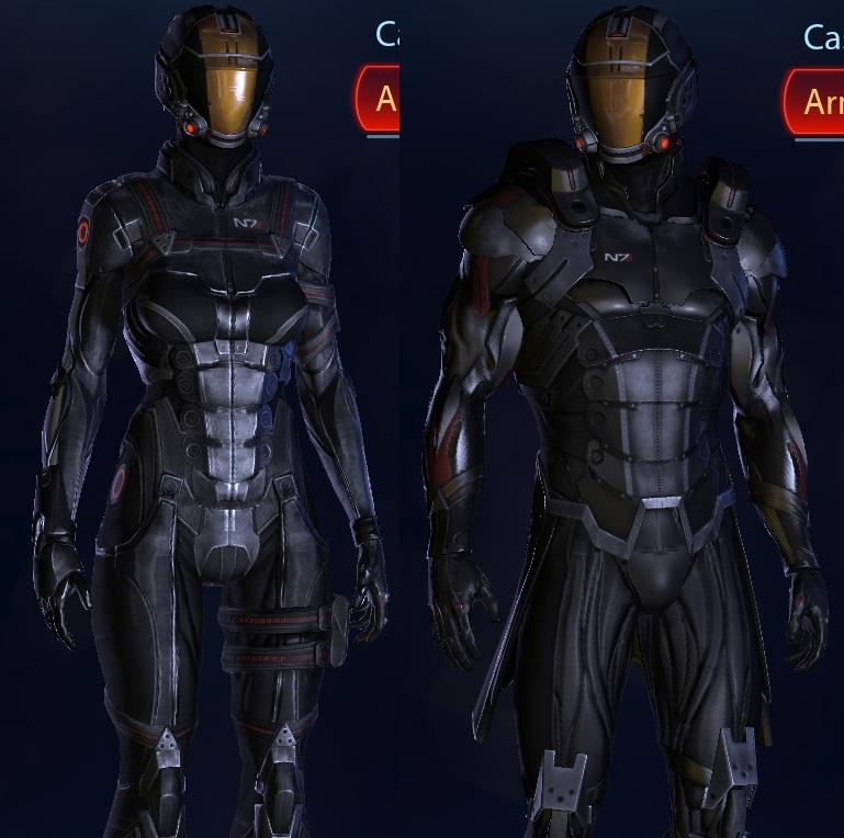 """Mass Effect 3 """"N7 Shadow Armor - 142.3KB"""
