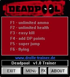 скачать трейнер для Deadpool - фото 5