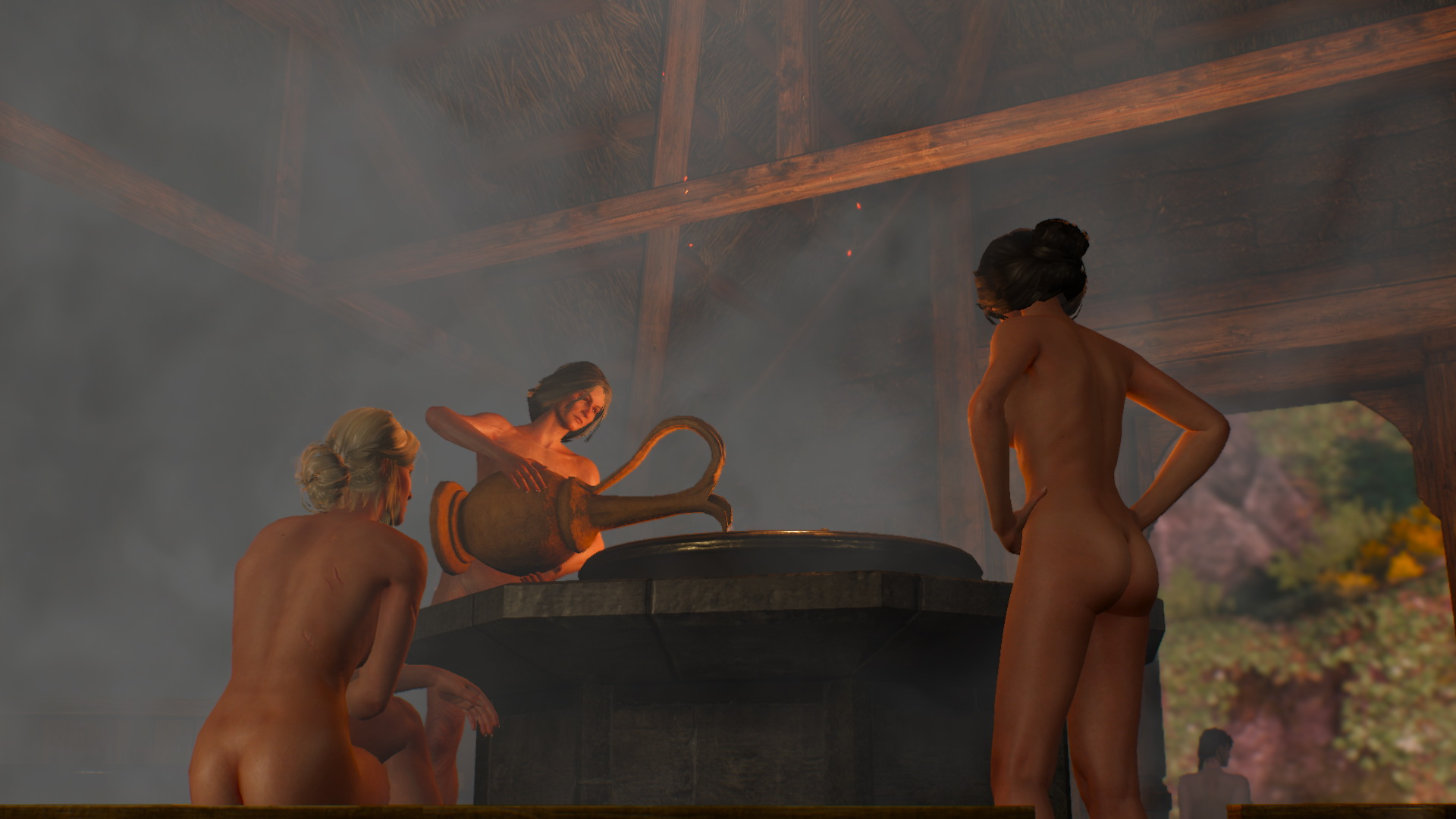 The witcher iii nudity porn gallery