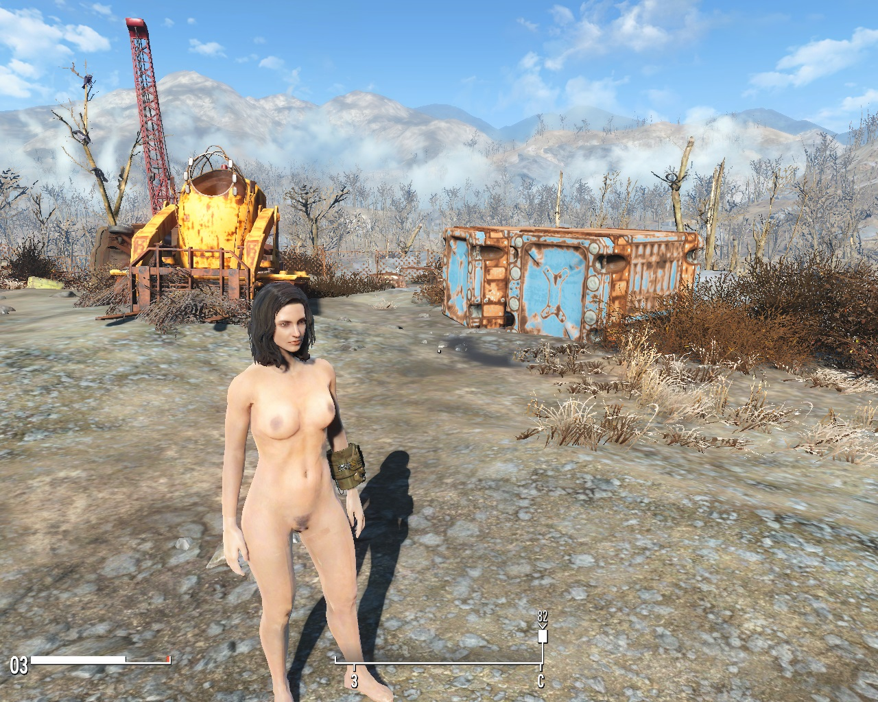 Fallout 4 naked mod pron photo
