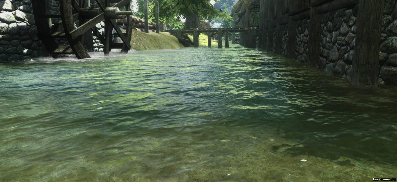 Скачать мод pure waters на skyrim