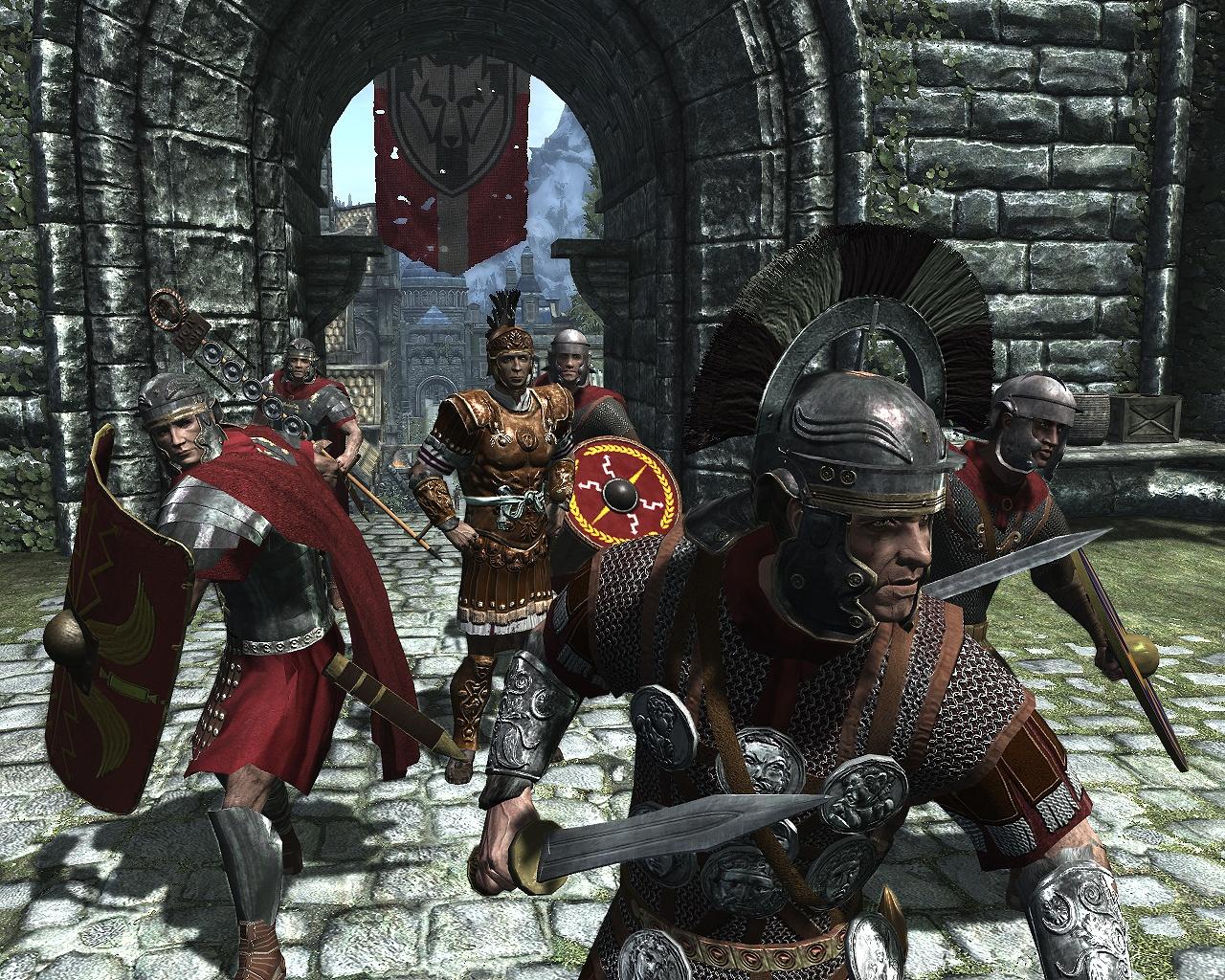 Скачать мод на скайрим римская броня