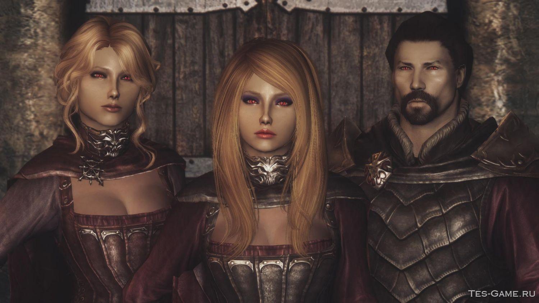 Скачать моды для вампиров в skyrim