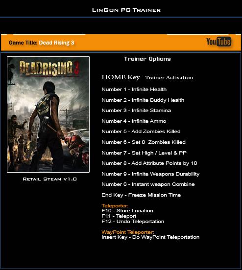 скачать трейнер для Dead Rising 3 Apocalypse Edition - фото 3