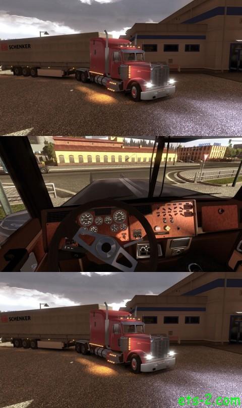 Euro Truck Simulator 2 Mods Peterbilt 379 V1.1