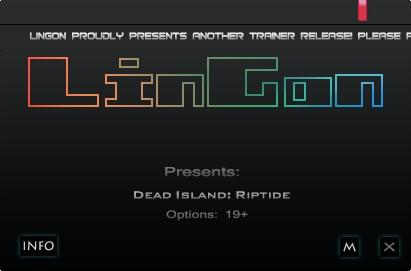 Dead Island Riptide v1.4.1.1.13 +23 Trainer [LinGon]