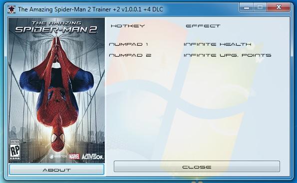 скачать трейнер для Amazing Spider Man 2 - фото 3