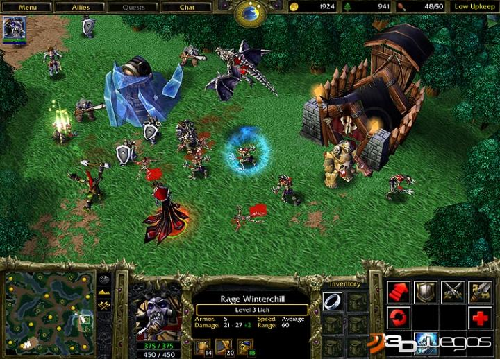 Other Патчи для игры Warcraft 3 - The Frozen Throne по Garena (Warcraft 3 -