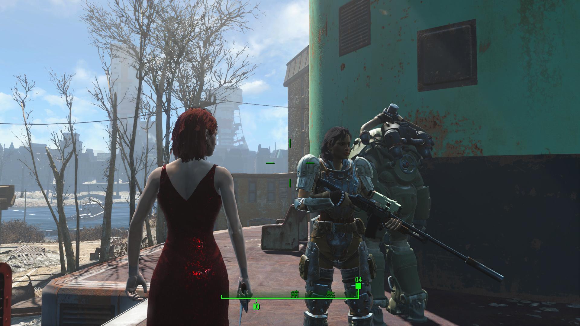 Fallout 4 Гроза Института Модификация