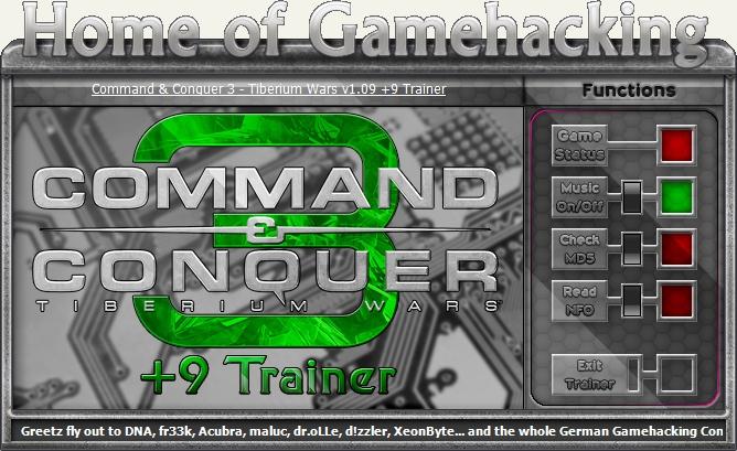 Command And Conquer 3 Скачать Трейнер