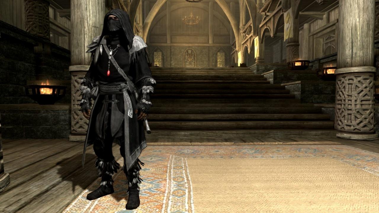 Скачать мод скайрим на броню темного лучника