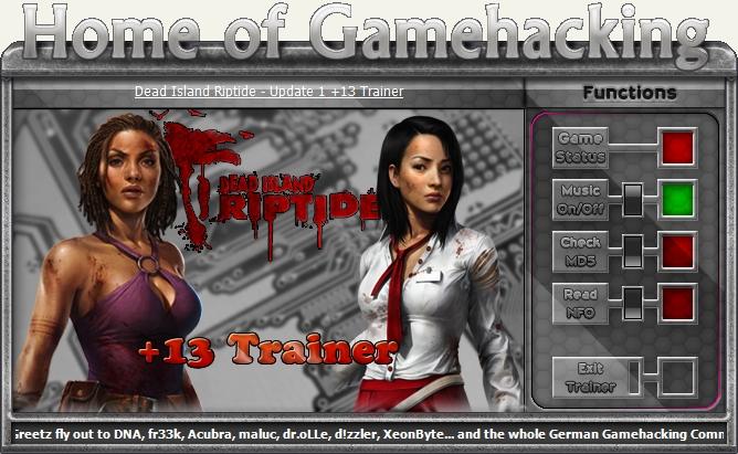 Dead Island Riptide v1.4.1.1.13  +14 Trainer [HoG]