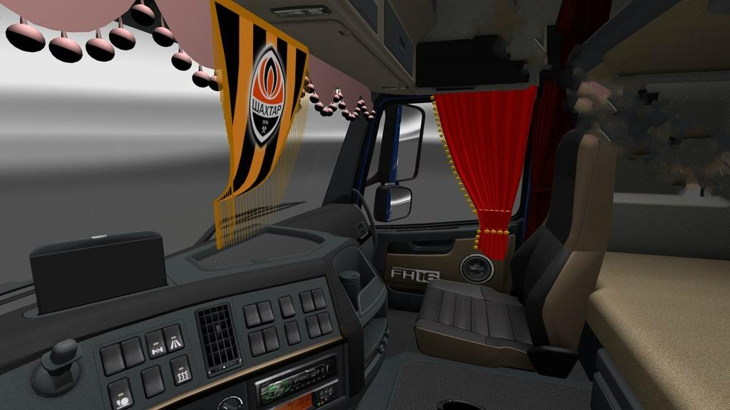 Салон грузовика вольво фото
