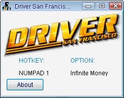 скачать трейнер для Driver San - фото 3