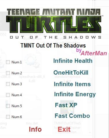 скачать трейнер для Tmnt - фото 8