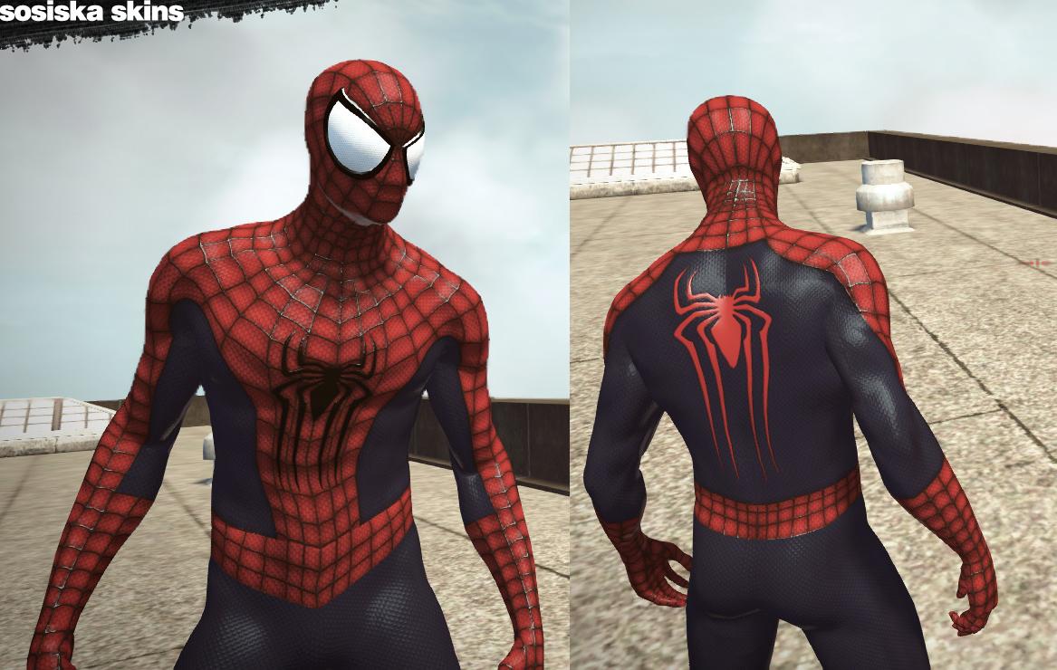 Моды на новый человек паук 2 скачать