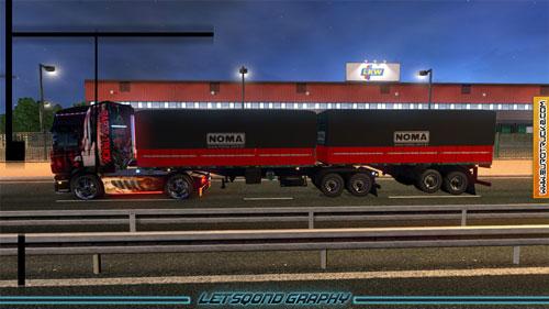Euro Truck Simulator 2 моды на прицепы скачать - фото 9