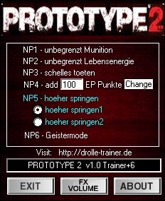 1Prototype 2 Trainer Pc